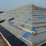 NTM - North Cotes - Roof Construction Project - April 2011