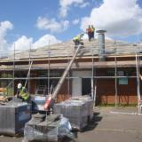 NTM - North Cotes - Roof Construction Project - May 2011
