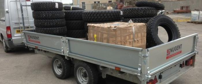 Tyres Donated